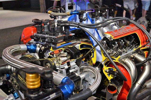 motor závoďáku